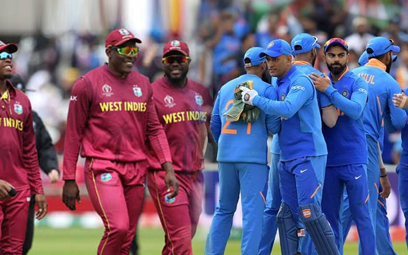India vs West Indies records and statistics
