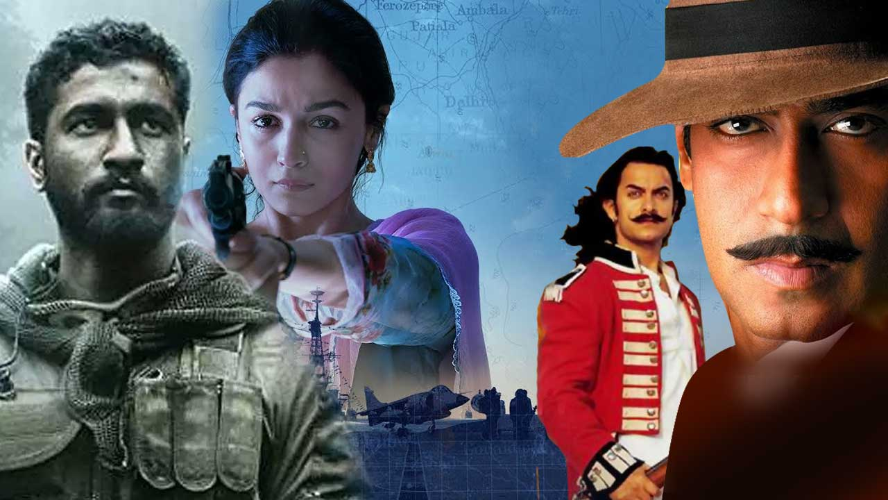 Bollywood has produced a lot of patriotic movies: Check if you are up to date with some recent films by taking this quiz