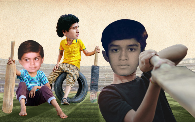 Can you identify these Indian cricketers from their childhood pictures?