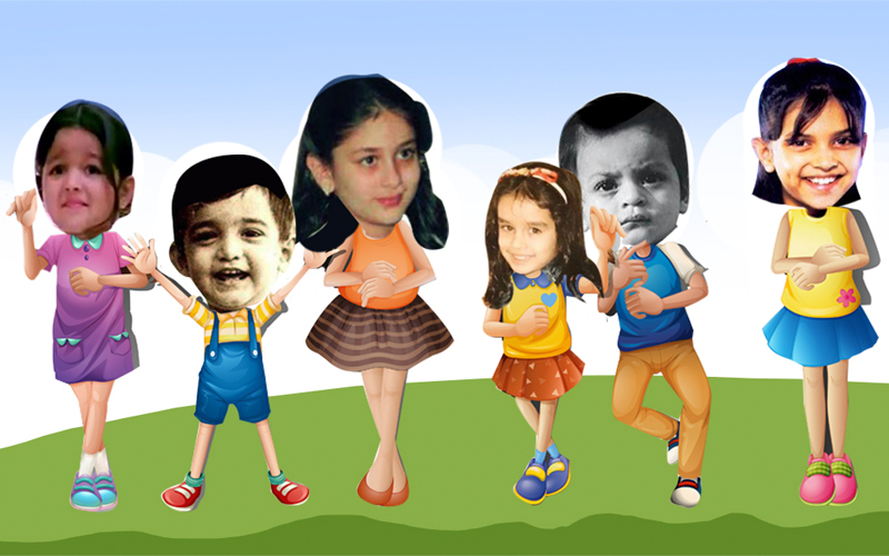 can you recognize these bollywood actors from their childhood pictures