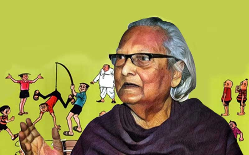 How much do you know about famous cartoonist Narayan Debnath and his comic strip characters