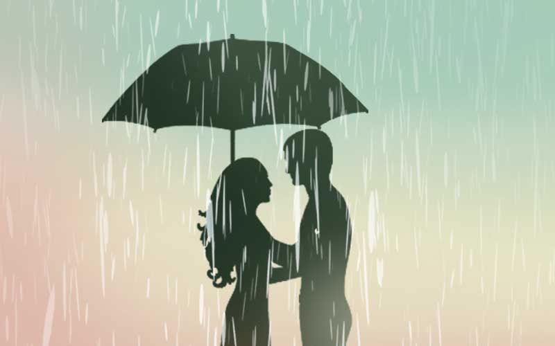 Can you complete the lyrics of these famous songs picturised on rain