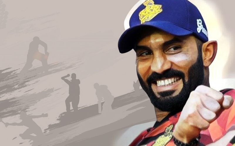How well do you know Dinesh Karthik, play the questions to answer this questions