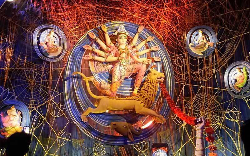 Do you know these facts about community Durga Puja pandal themes AU