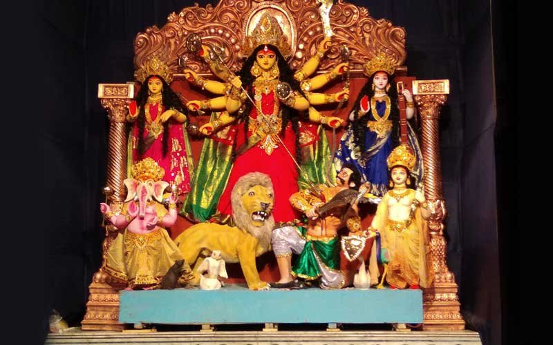 How much do you know abouth the weapons of Goddess Durga AU